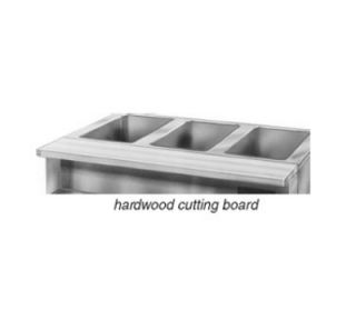 Eagle Group 1.25 Thick Hardwood Cutting Board   Drop Brackets, 79x8