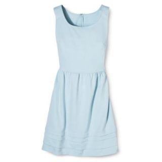 Merona Womens Ponte Dress   Watercolor Blue   XL