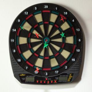 Arachnid Dartronic 300 Electronic Dart Board Multicolor   E24ARA