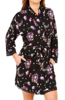 Juicy Couture 9JMS1709 Bouquet Printed Robe