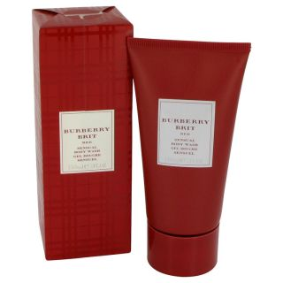 Burberry Brit Red for Women by Burberry Body Wash 5 oz