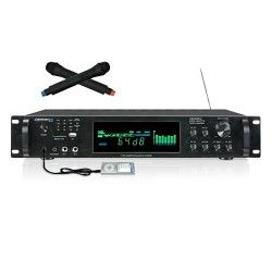Technical Pro HW4000U Digital Hybrid Amp/Preamp Tuner w USB/SD Card Inputs & Dua