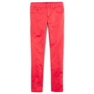 ARIZONA Colored Twill Skinny Jeans   Girls 6 16, Slim & Plus, Rose Garden, Girls
