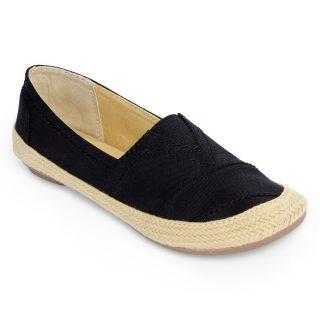 CLOUD 9 Fresh Air Casual Slip On Shoes, Black, Womens