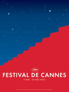 CANNES FILM FESTIVAL 2005 POSTER (FRENCH ROLLED) LARGE Movie Poster