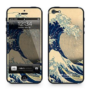 Da Code ™ Skin for iPhone 5/5S: The Great Wave off Kanagawa by Katsushika Hokusai (Masterpieces Series)