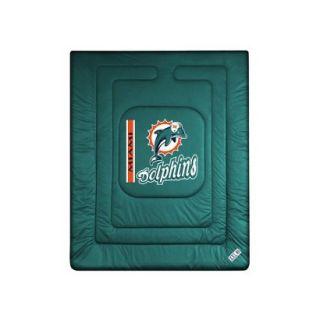 Miami Dolphins Comforter   Full/ Queen