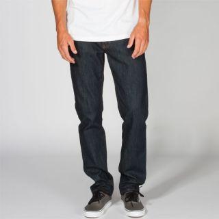 Daggers Mens Slim Jeans Dark Indigo In Sizes 36, 29, 38, 31, 33, 30, 34, 3