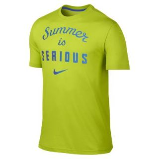 Nike Summer Is Serious Mens T Shirt   Fierce Green