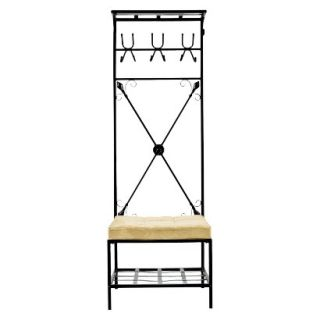 Coat Rack Stands Southern Enterprises Entryway Storage Rack & Bench Seat