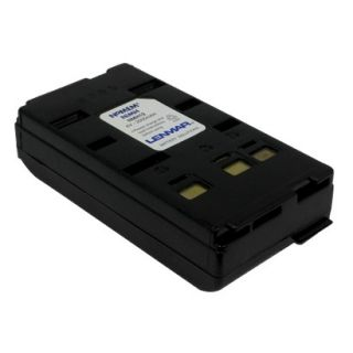 Lenmar Replacement Battery for Panasonic Camcorders   Black (NMH12)