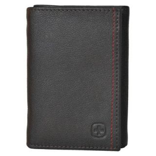 Swiss Gear Mens Bern Trifold Wallet   Brown