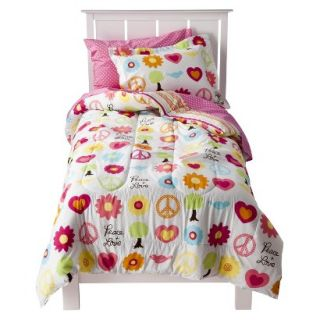 Circo Peace Girl Bedding Set   Full