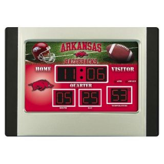 Team Sports America Arkansas Scoreboard Desk Clock