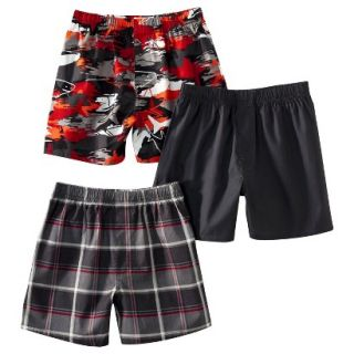 Cherokee Boys 3 Pack Boxer Shorts   Basic M(8 10)
