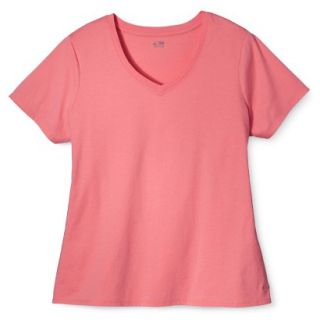 C9 by Champion Womens Plus Size Power Workout Tee   Sunset 2 Plus