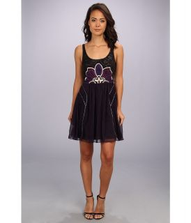 Free People Lotus Pond Dress Womens Dress (Purple)