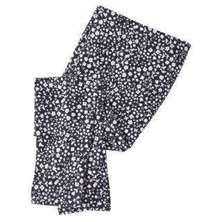 Circo Infant Toddler Girls Floral Print Legging   Black 2T