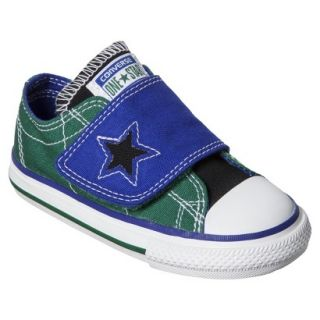 Toddler Boys Converse One Star One Flap Sneaker   Blue/Green 5