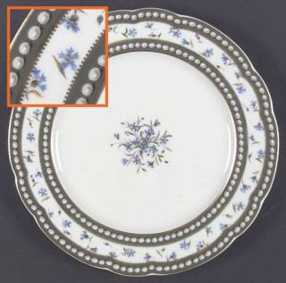 Royale (France) Marie Antoinette Dinner Plate, Fine China Dinnerware   Comte DA