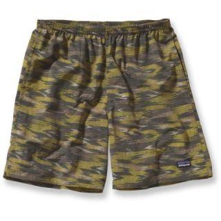 Patagonia Baggies Long Shorts  Mens,  WILLOW HERB Green/KASIH I,  L
