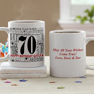Personalized Birthday Coffee Mug   Another Year