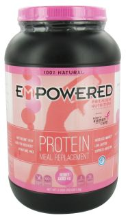 Empowered Nutrition   100% Natural Protein Powder Berry Good 4U   2.09 lbs.