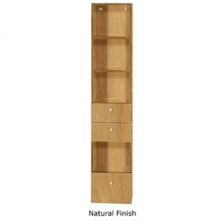 Modelo Bathroom Side Cabinet   Natural