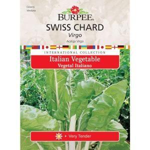 Burpee Italian Swiss Chard Virgo Seed 69623