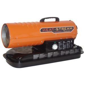 Heat Stream 70,000 BTU Forced Air Kerosene Heater HS 70T KFA