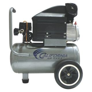 California Air Tools 6.3 Gallon 2.0 HP Steel Tank Oil Lubricated Air Compressor Tools
