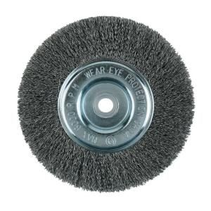 Lincoln Electric 8 in. Crimped Wire Wheel Brush KH322