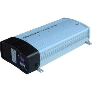 KISAE Abso 2,000 Watt Sine Wave Inverter with 55 Amp Battery Charger IC122055