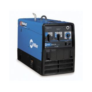 Miller Electric Mfg Co Bobcat 250 Generator Welder 250A with 23HP Kohler Engine, Electric Fuel Pump and Standard Receptacles Tools
