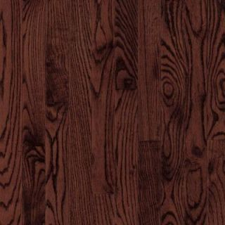 Bruce Laurel Oak Cherry 3/4 in. Thick x 2 1/4 in. Wide x 84 in. Length Solid Hardwood Flooring (20 sq. ft./case) CB328