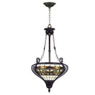 Dale Tiffany Marsala 2 Light Hanging Antique Bronze Pendant Lamp DISCONTINUED STH11057