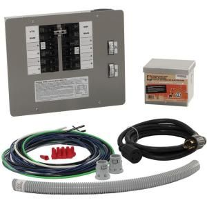 Generac 30 Amp Generator Transfer Switch Kit for 10 16 Circuits for Indoor Applications 6295