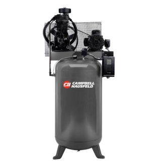 Campbell Hausfeld 80 Gallon 5 HP 230V 3 Phase Two Stage Air Compressor Tools