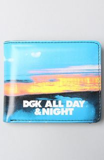 DGK The All Day Night Wallet in Black
