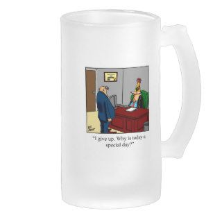 Funny Special Day At Wor Birthday  Beer Stein Mugs