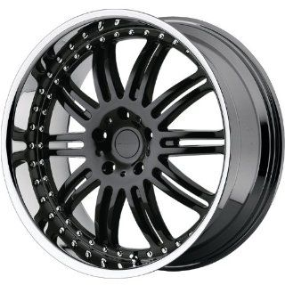 KMC KM127 20x8.5 Black Wheel / Rim 6x5.5 with a 10mm Offset and a 106.25 Hub Bore. Partnumber KM12728568510: Automotive