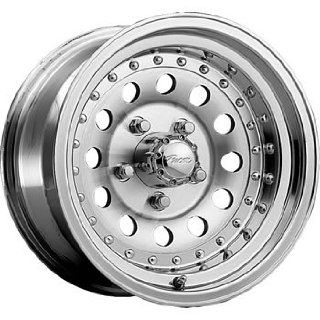 Pacer Aluminum 15x8 Machined Wheel / Rim 5x5.5 with a  20mm Offset and a 108.00 Hub Bore. Partnumber 162M 5885 Automotive
