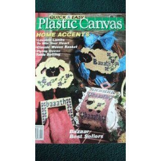 QUICK & EASY PLASTIC CANVAS MAGAZINE   AUGUST SEPTEMBER 1991 (NUMBER 13): CAROLYN CHRISTMAS: Books
