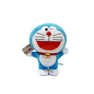 "Doraemon Walking Plush Doll   12"" Doraemon: Toys & Games"