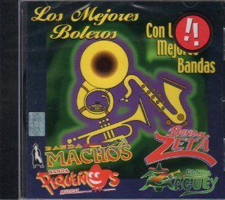 """Los Mejores Boleros """" Con Las Mejores Bandas"""": Music"""