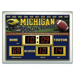 Team Sports America Michigan Scoreboard Clock