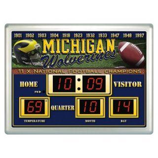 Team Sports America Michigan Scoreboard Clock