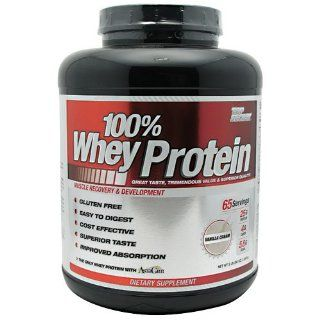 100% Whey Protein, Vanilla Cream, 5 lbs, From Top Secret Health & Personal Care