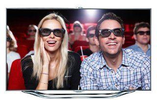 Samsung UE55ES8090 138 cm ( (55 Zoll Display),LCD Fernseher,800 Hz), Energieeffizienzklasse A Heimkino, TV & Video