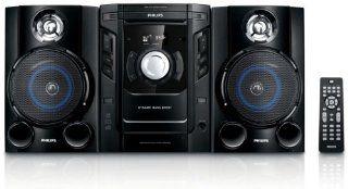 Philips FWM 154 Kompaktanlage (CD / Player, UKW /MW Tuner, 80 Watt) schwarz Heimkino, TV & Video